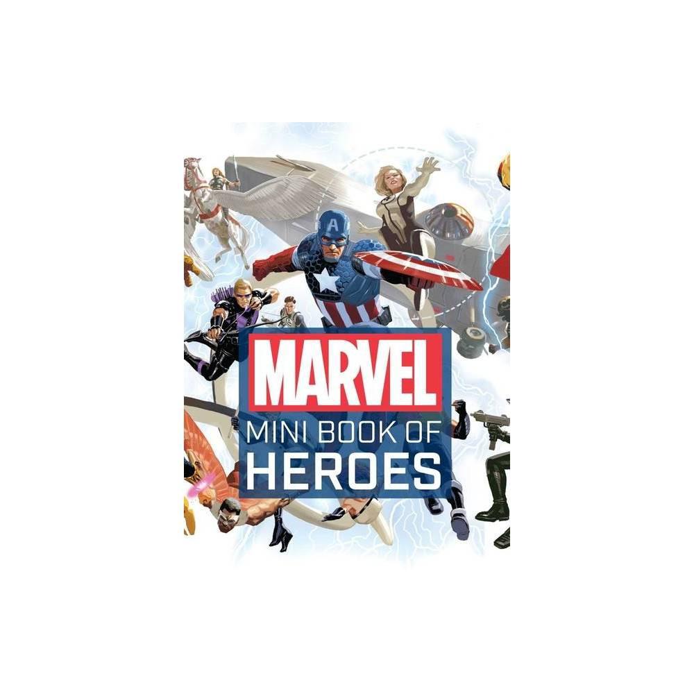 Marvel Comics Mini Book Of Heroes By Scott Beatty Hardcover