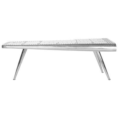 Aviator Coffee Table Silver - Safavieh