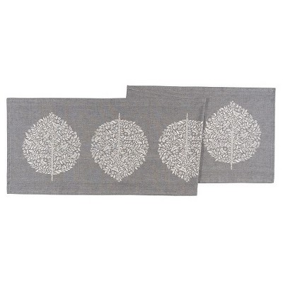 Gray Table Runner (16 x72 )- Now Designs