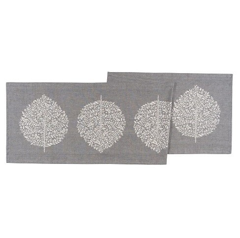 "Gray Table Runner (16""x72"") - Now Designs - image 1 of 1"