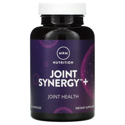 MRM Joint Synergy +, 120 Capsules, Dietary Supplements