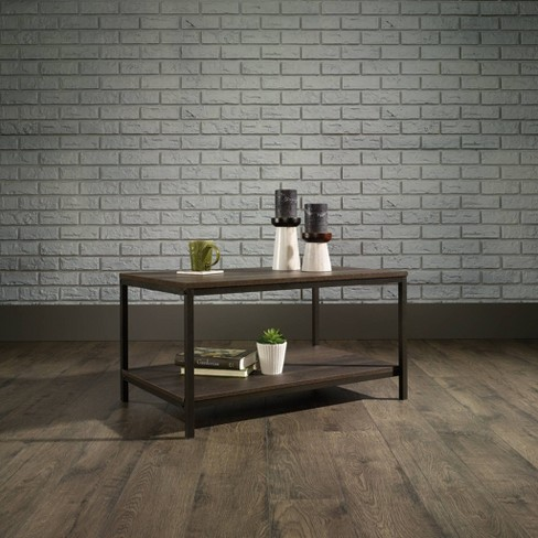 North Avenue Coffee Table Smoked Oak - Sauder - image 1 of 4