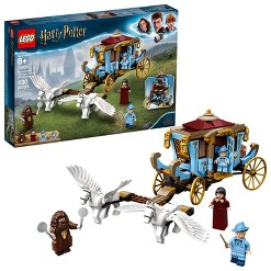 LEGO Harry Potter Beauxbatons' Carriage: Arrival at Hogwarts Toy Carriage Building Set 75958