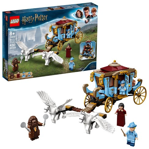 LEGO Harry Potter Beauxbatons' Carriage: Arrival at Hogwarts 75958 Toy Carriage Building Set 430pc - image 1 of 4