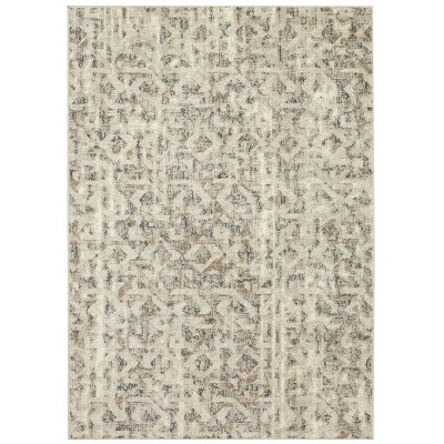 5'x7' Eliot Geo Area Rug Gray - Threshold™
