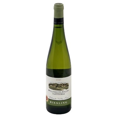 Willamette Valley Riesling White Wine - 750ml Bottle