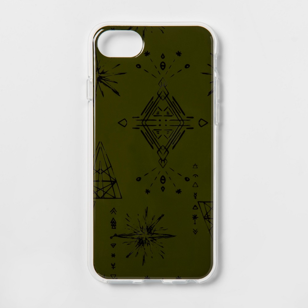heyday Apple iPhone 8/7/6s/6 Cosmic Signs Case - Olive
