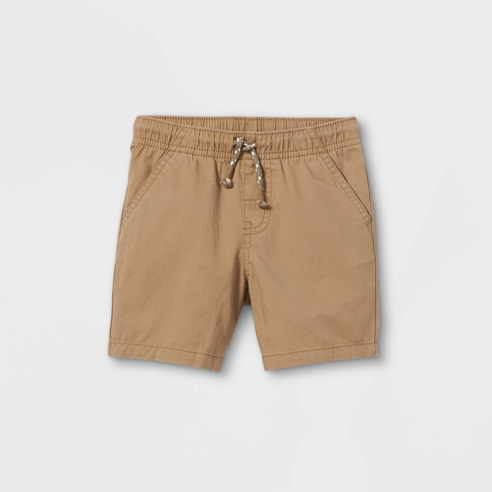 Toddler Boys 39 Woven Pull On Shorts Cat 38 Jack 8482 Tan 12m
