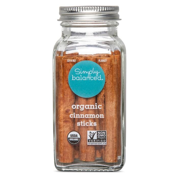 Organic Cinnamon Sticks - 1.4oz - Simply Balanced™ - image 1 of 1