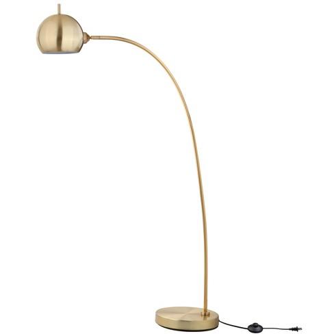 Belami Floor Lamp Gold Includes Energy Efficient Light Bulb Safavieh Target