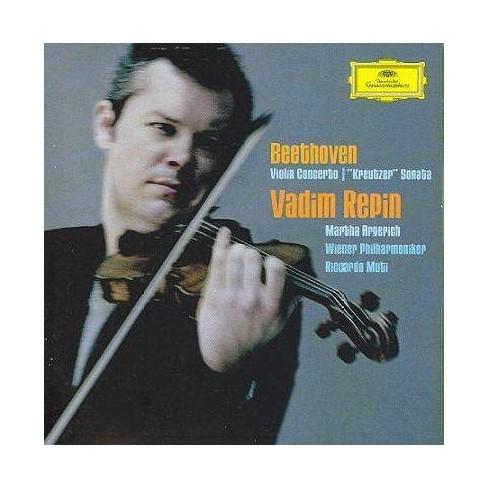 "Beethoven - Beethoven: Violin Concerto / ""Kreutzer"" Sonata (CD) - image 1 of 1"
