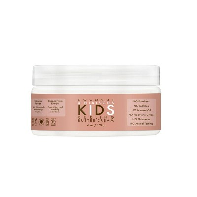 SheaMoisture Coconut & Hibiscus Kids Curling Hair Butter Cream - 6oz