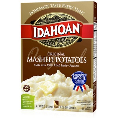 Idahoan Original Mashed Potatoes 13.75oz
