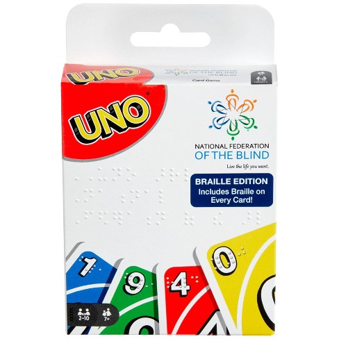 Uno Braille  Card Game - image 1 of 4