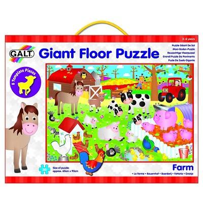 Galt Toys Giant Farm Floor Puzzle - 30pc