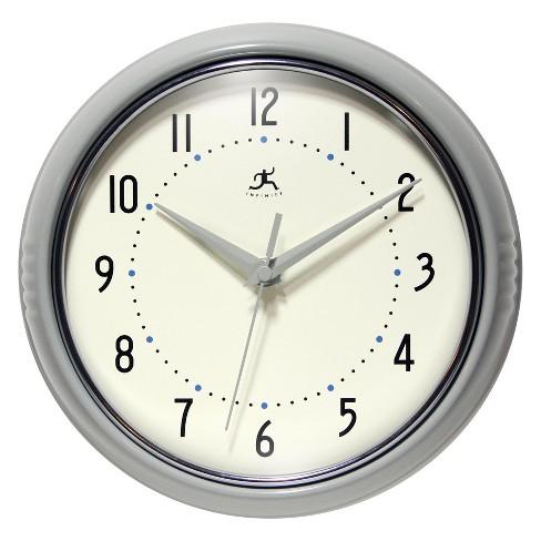 Wall Clocks Infinity Instruments Light Grey - image 1 of 7