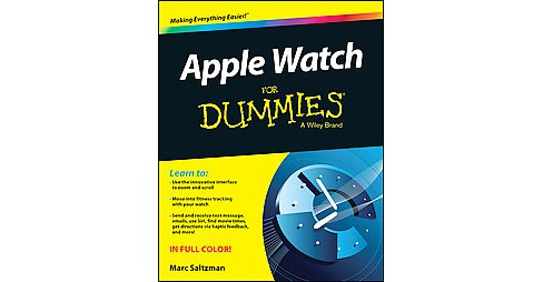 Apple Watch for Dummies (Paperback) (Marc Saltzman) - image 1 of 1