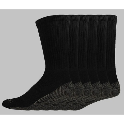 Dickies Big & Tall Dri-Tech Moisture Control Casual Socks 6pk - 12-14 - image 1 of 2