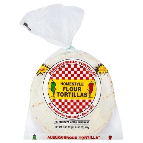 Albuquerque Homestyle Taco Flour Tortillas 10 ct - image 1 of 1