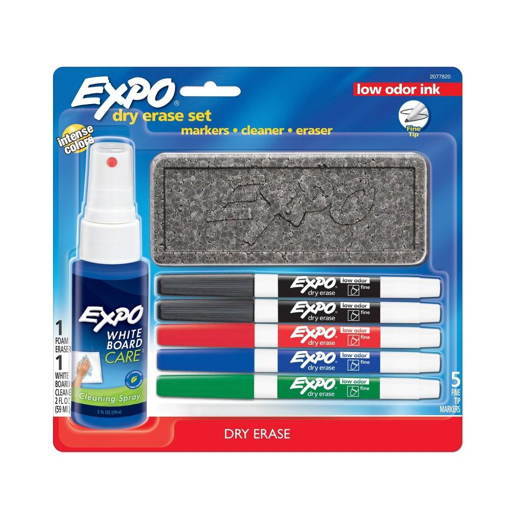 Image of Expo 8pk Dry Erase Marker Starter Set