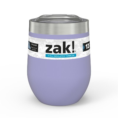 Zak Designs 11.5oz Double Wall Tumbler - Lavender