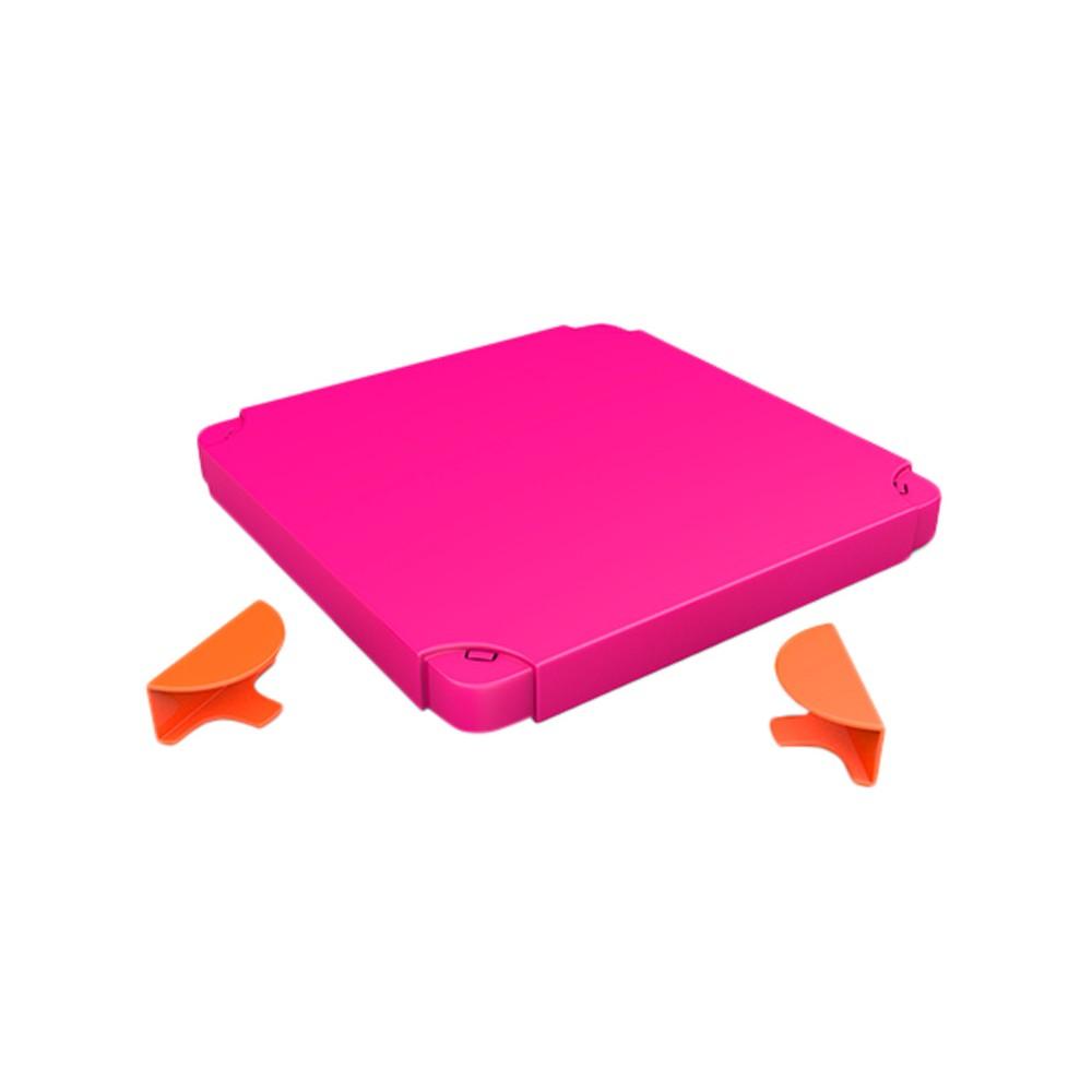 Chillafish Modular Toy Storage Box Top - Orange and Pink