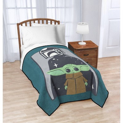 Star Wars: The Mandalorian The Child Blanket