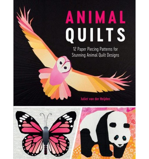 Animal Quilts : 12 Paper Piecing Patterns for Stunning Animal Quilt Designs -  (Paperback) - image 1 of 1