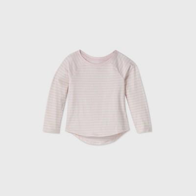 Toddler Girls' Striped Long Sleeve T-Shirt - Cat & Jack™