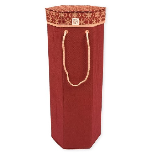 "Tree Keeper 24"" Red Storage Box with Snowflake Patterned Lid for Artificial Christmas Sprays - image 1 of 2"
