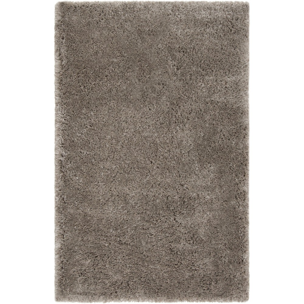 5'X8' Solid Tufted Area Rug Gray - Safavieh