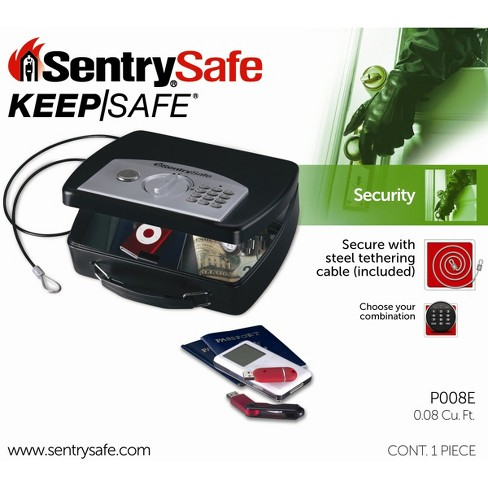 SentrySafe Small Compact E-lock Safe - image 1 of 1
