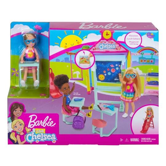 Barbie Club Chelsea School Doll Playset image number null