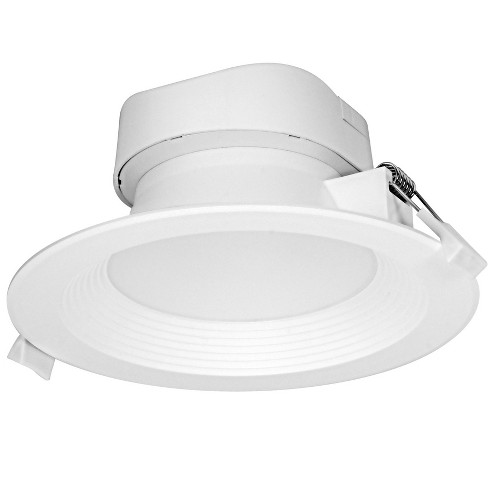 """Satco Lighting S29027 3000K LED Integrated Recessed Fixture 5"""" Baffle Recessed Trim- IC Rated - image 1 of 1"""