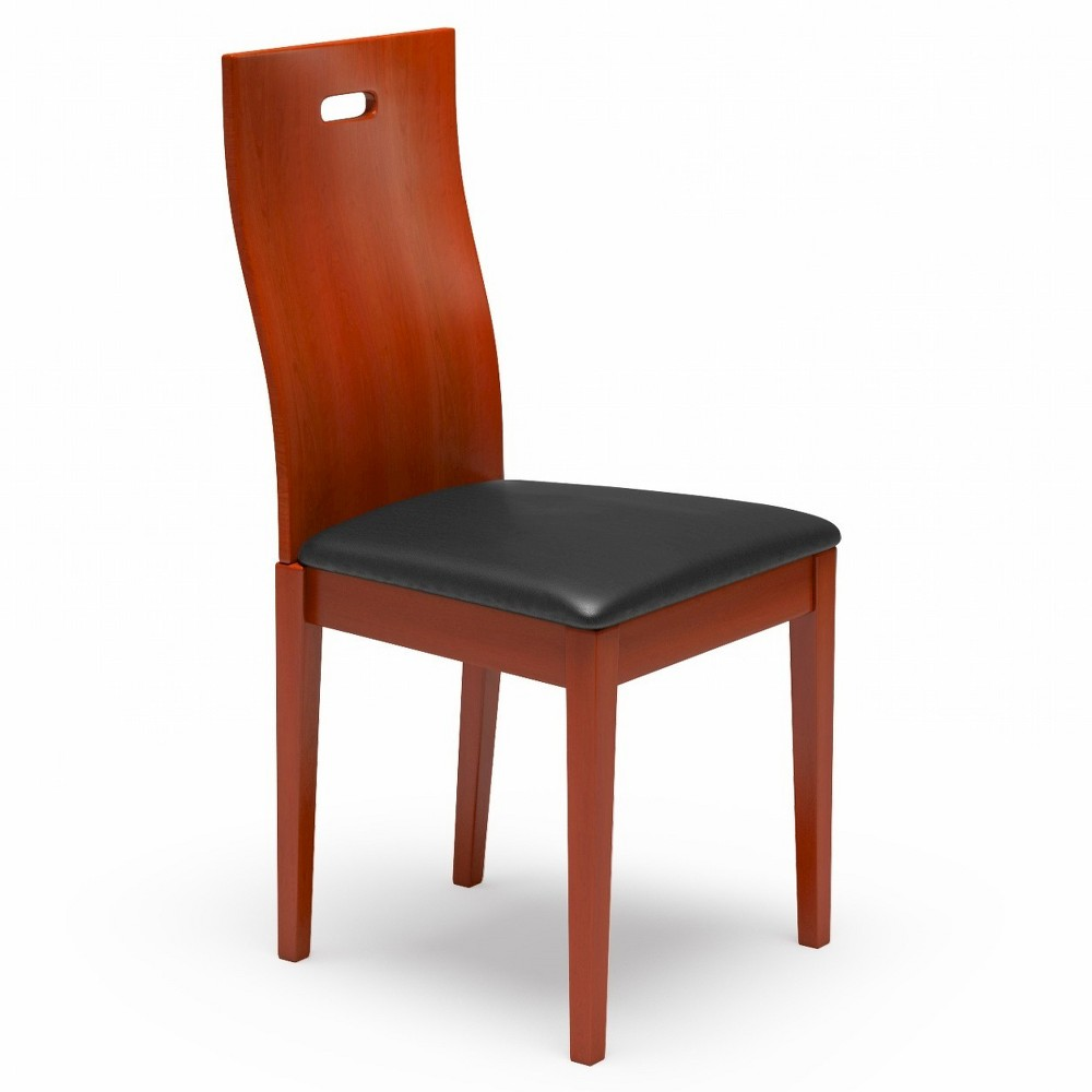 Boston Dining Chair - Cherry (Red) (Set of 2) - Aeon