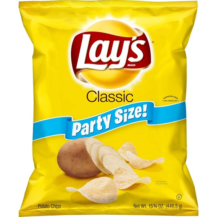 Lay's Classic Potato Chips - 15.75oz - image 1 of 3