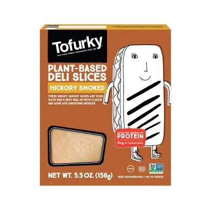 Tofurky Organic Vegan Plant-Based Hickory Smoked Deli Slices - 5.5oz