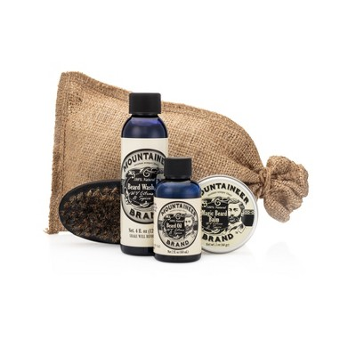 Mountaineer Brand WV Citrus & Spice Complete Beard Care Kit