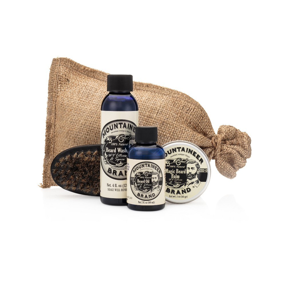 Image of Mountaineer Brand WV Citrus & Spice Complete Beard Care Kit