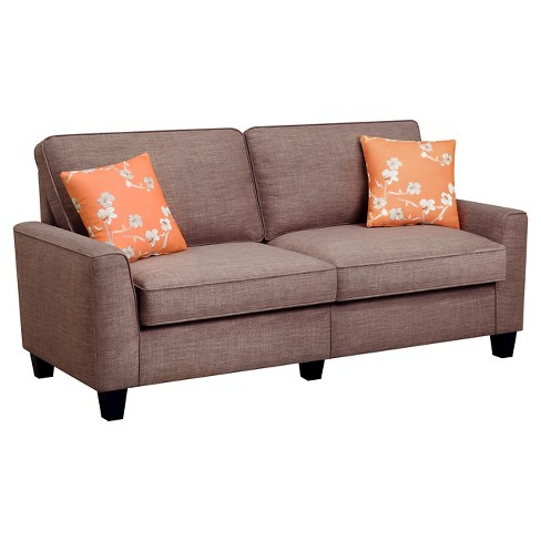 "Serta® RTA Astoria Collection 61"" Loveseat in Church Brick Tan, CR46231P - image 1 of 7"