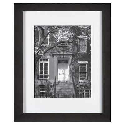 Gallery Solutions 11 X14  Frame Matted For 8 X10  Frame - Black