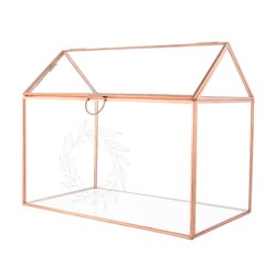 Cathy's Concepts Clear Terrarium Reception Gift Card Holder