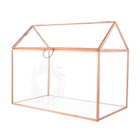 Cathy's Concepts Clear Terrarium Reception Gift Card Holder - image 1 of 4