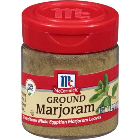 McCormick Ground Marjoram - 0.65oz - image 1 of 4