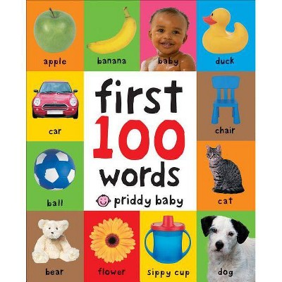 First 100 Words - by Roger Priddy (Board Book)