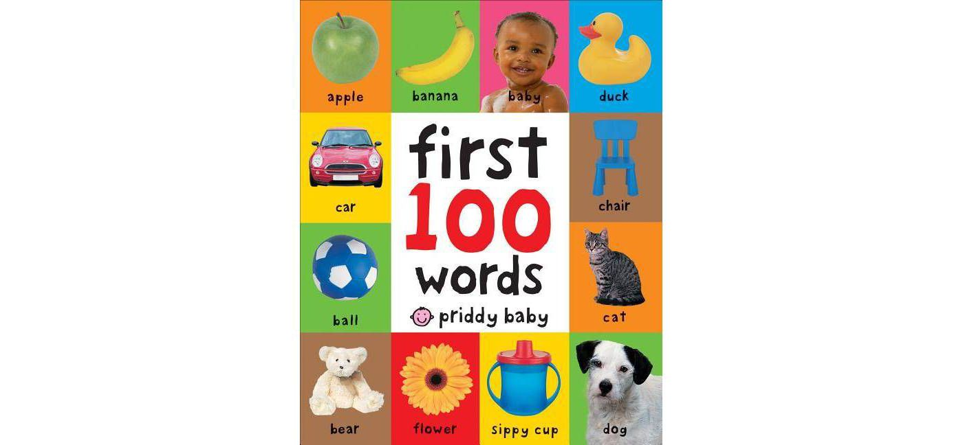 First 100 Words - by Roger Priddy (Board Book) - image 1 of 2
