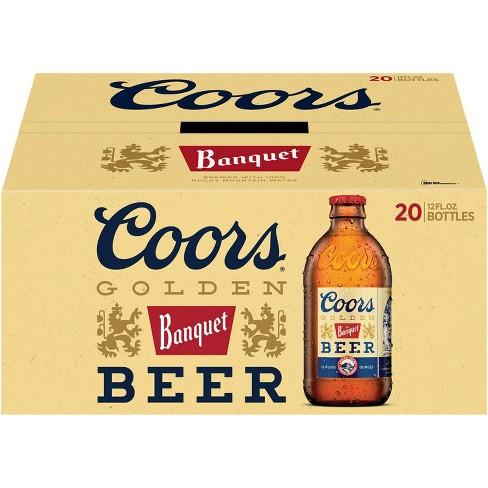 Coors Banquet Beer - 20pk/12 fl oz Bottles - image 1 of 4