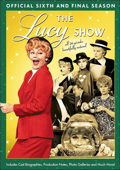 Lucy show:Official sixth season (DVD) - image 1 of 1