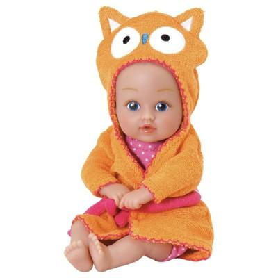 Adora Baby Bath Toy Owl, 8.5 inch Bath Time Baby Tot Doll with QuickDri Body