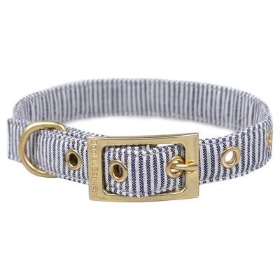 Railroad Stripe Dog Collar - L - Boots & Barkley™